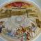 Szűz Mária bemutatása-mennyezet freskó