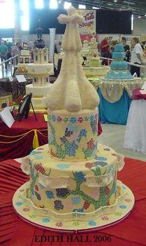 Ez akár Gaudi tortája is lehetne.
