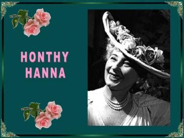 Honthy Hanna_