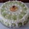Sárgadinnyés-barackos torta