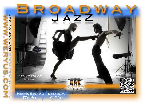Broadway JazZ Tánc / Komplex színpadi TÁNC
