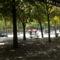 Nyári zápor a Champs-Elysées-n
