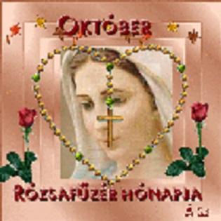 Október: a Szűzanya hónapja