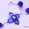 Virág medál mintás nyaki