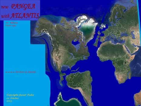 A Pangea műholdképes rekonstrukciója torzítás nélkül 2