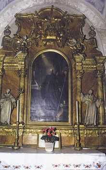 CELLDÖMÖLK Szent István oltár (XVIII.sz.)