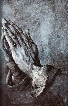 Dürer_ Imádkozó kéz