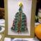 karácsonyfás üdvözlőlap