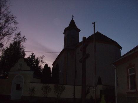A templom tetejének felújítása, 2013.november 25