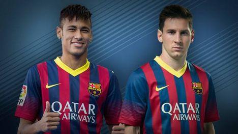 Messi és Neumar .