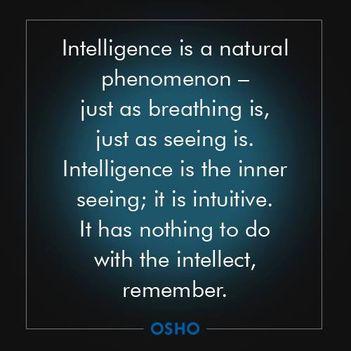 Az intelligencia magától értetődő jelenség