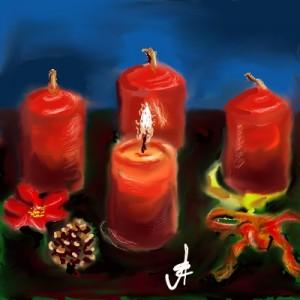 Aranyosi Ervin:Advent - első gyertya
