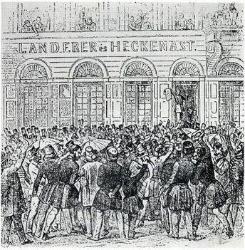 1848. március.15. Landerer nyomda