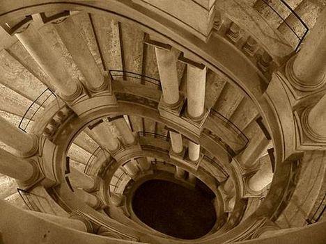 barberini palota csigalépcső