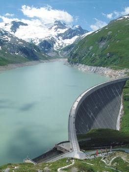 víztározó, Kaprun (Ausztria)