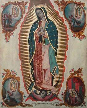 December 12. Guadalupei Szűz Mária emléknapja