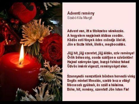 Adventi remény,Szabó Kila Margit