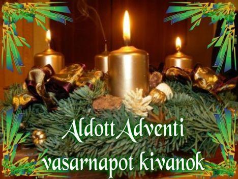 Áldott Adventi  3. vasárnapot kívánok!