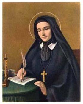December 15:Keresztről nevezett Szent Mária Róza  emléknap