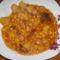 paprikás krumpli,reszelt tésztával