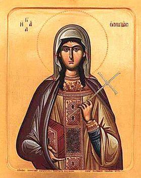 December 17:Szent Olümpiász özvegy Emléknap