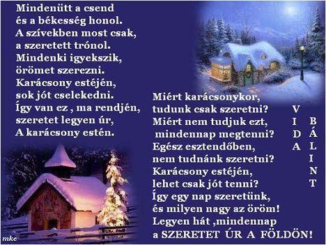 Karácsony estéjén