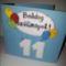 Bence fiam 11. szülinapjára készült üdvözlet - előlap