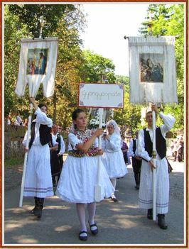 Mátraverebély - Szentkút kút gyalogos Gyönygyösi zarándokok