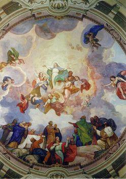 Mátraverebély-Szentkút Bazilika kupola.