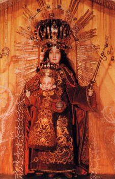 Mátraverebély-Szentkút Nagyboldogasszony-templom kegyszobor