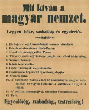 Mit kíván a magyar nemzet