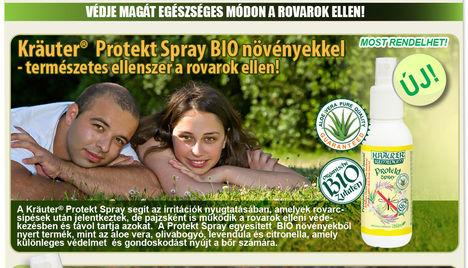 Védekezz a rovarcsípések ellen.