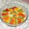 Egzotikus gyümölcssaláta vérnaranccsal