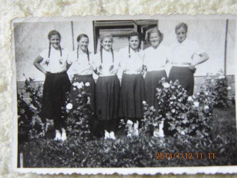 Bakónaki Lányok régen