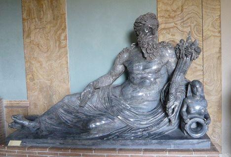 Statua del Nilo Musei Vaticani