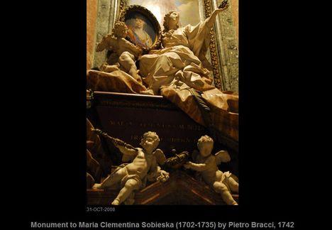 Monument to Maria Clementina Sobieska