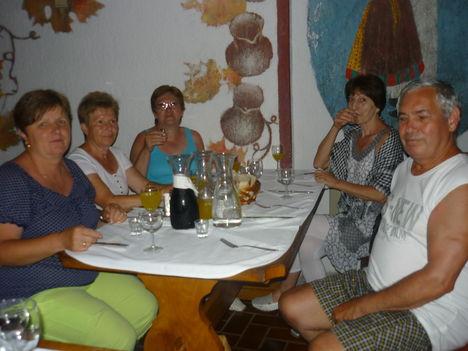 Isztria 164 Ebéd