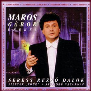 Maros Gábor  színművész, lemezborító