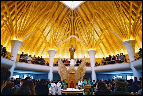 Csíkszereda templomi szentmise