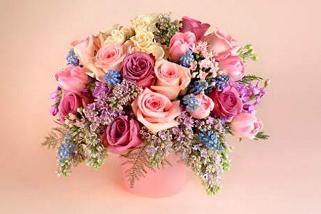 Egy szép virágcsokornak minden hölgy örül