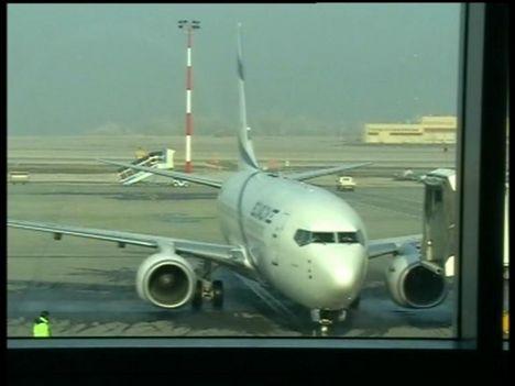 EL-AL Légitársaság gépe