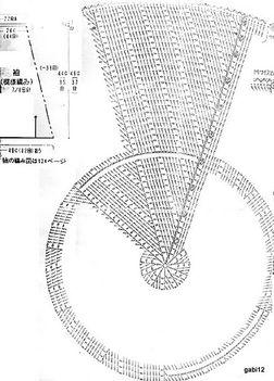 Horgolt körmellény minta