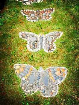Kavics pillangók