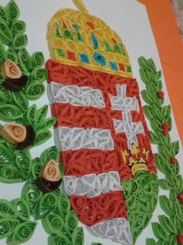 Quilling   Magyarország címere