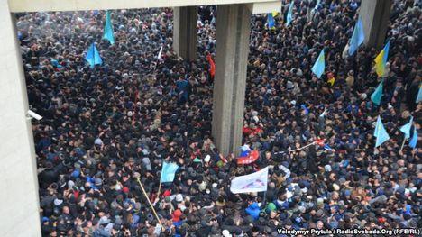 orosz megszállás és ukrán ellenállás a Krímben 1