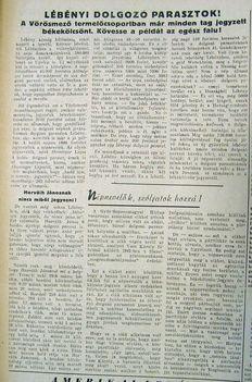 Lébényi dolgozó parasztok, 1952.10.01.4.o