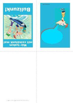 Phineas és Ferb nyomtatható meghívó