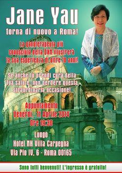 Jane Yau Rómában