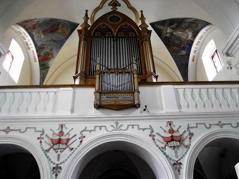 Gyergyószentmiklósi római katolikus templom ORGONA