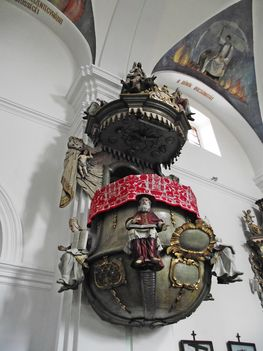 Gyergyószentmiklósi római katolikus templom SZÓSZÉK